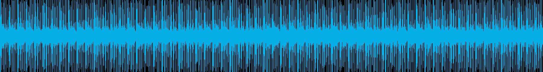 カッコいいテクノ。動画やゲームCM映像にの再生済みの波形