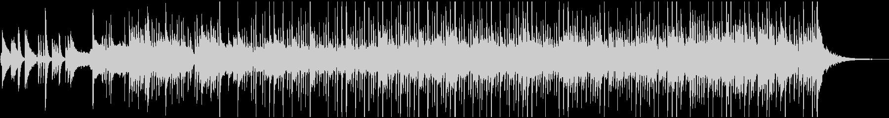 イントロの後、開放的なBGMの未再生の波形