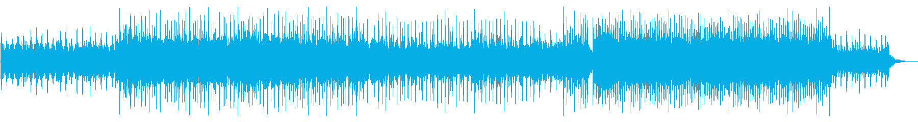 企業VPやVlog向けピアノ爽やかポップの再生済みの波形