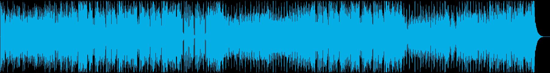 クールなFuture Bass Vo有の再生済みの波形