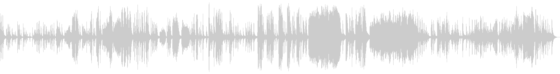 KANTピアノバラード即興曲209の未再生の波形