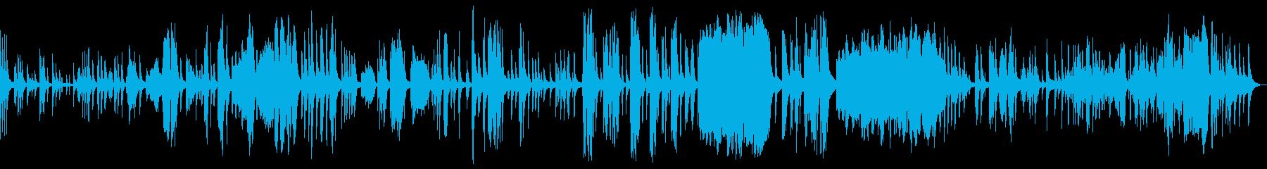 KANTピアノバラード即興曲209の再生済みの波形
