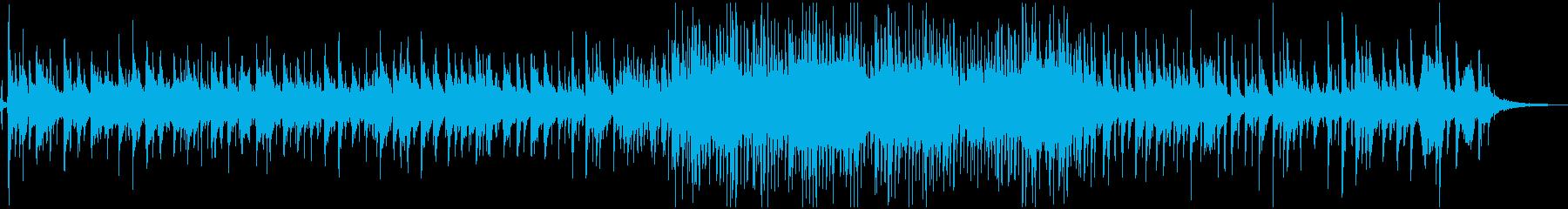 童謡『七つの子』のジャズ・アレンジの再生済みの波形