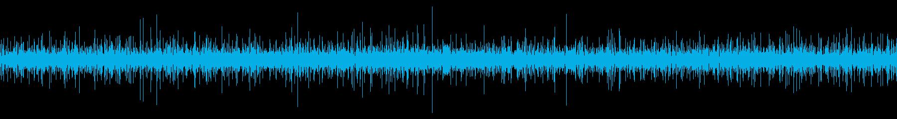 春の山の湧水が流れる音 ループの再生済みの波形