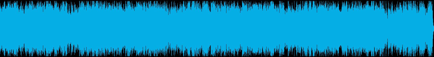 キラキラ輝く未来を描くBGM。の再生済みの波形