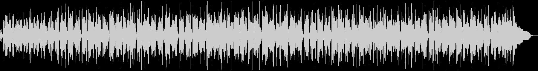 軽快でおしゃれなピアノトリオのボサノバの未再生の波形