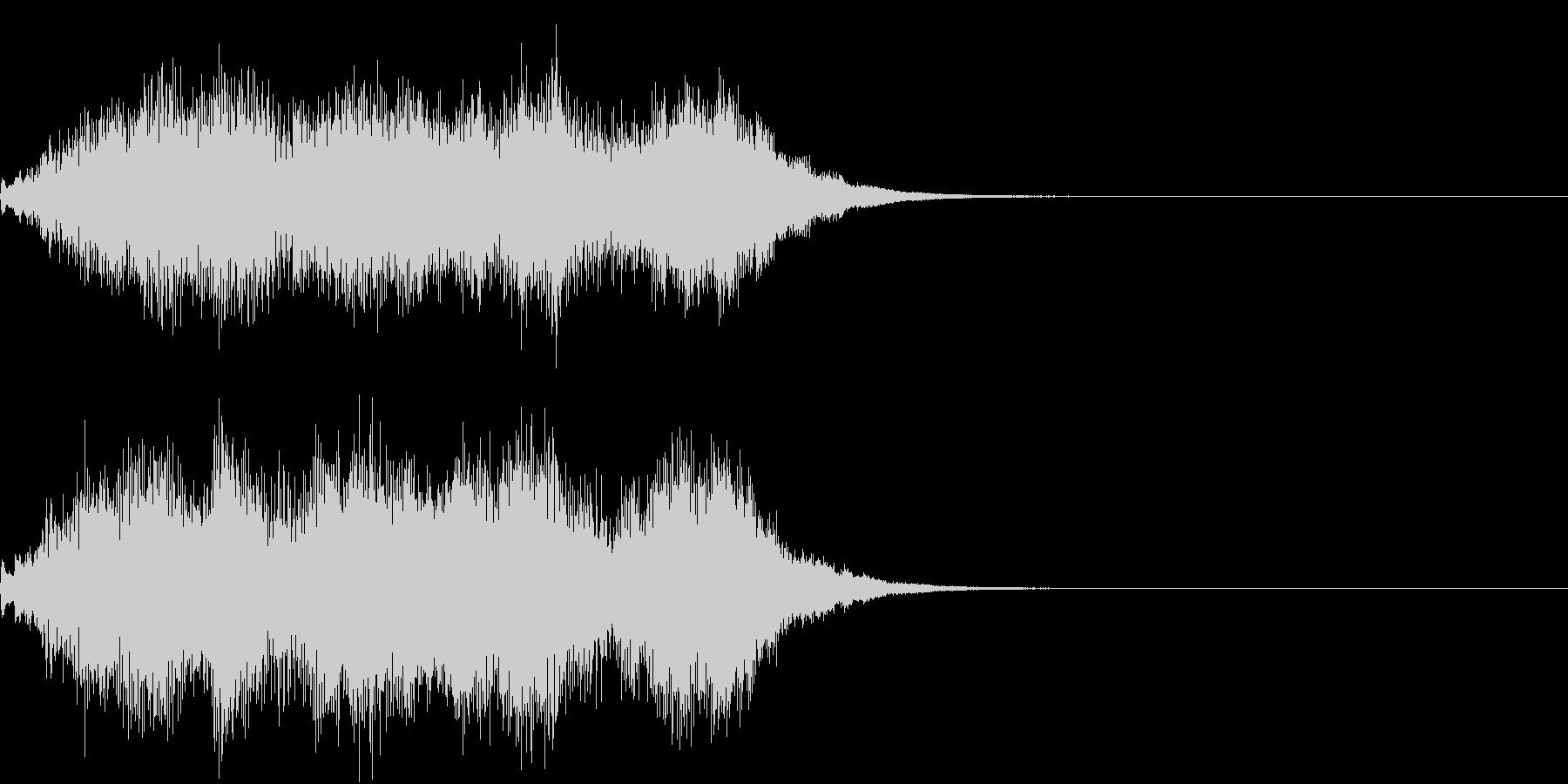 ハープ 魔法 キラキラ 泉 場面転換 1の未再生の波形