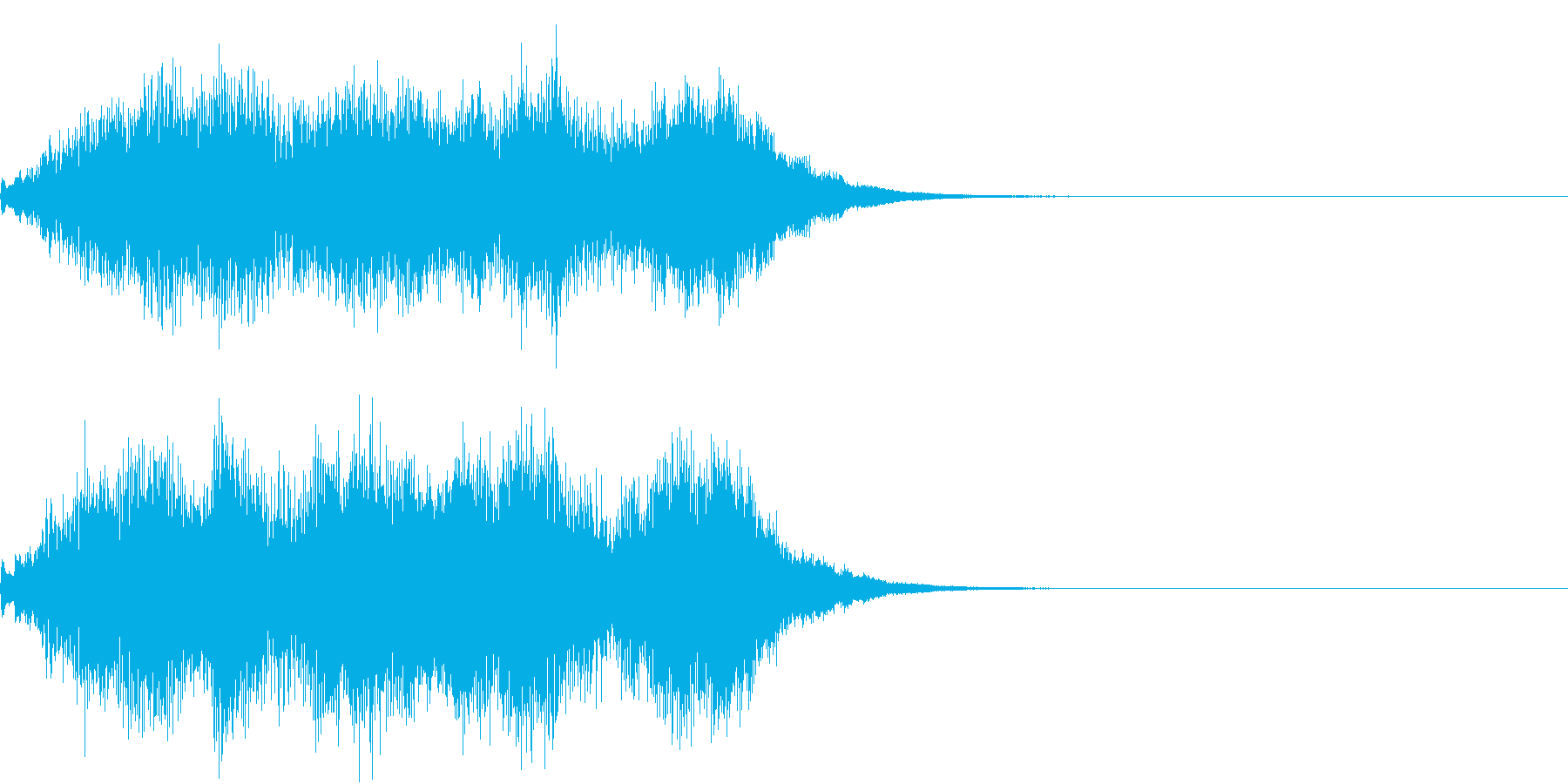 ハープ 魔法 キラキラ 泉 場面転換 1の再生済みの波形