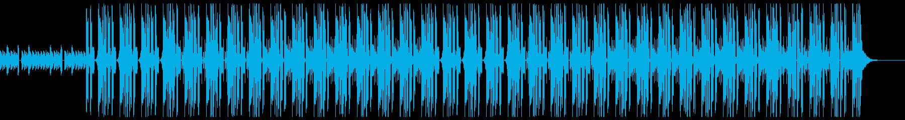 ダークなトラップビートの再生済みの波形