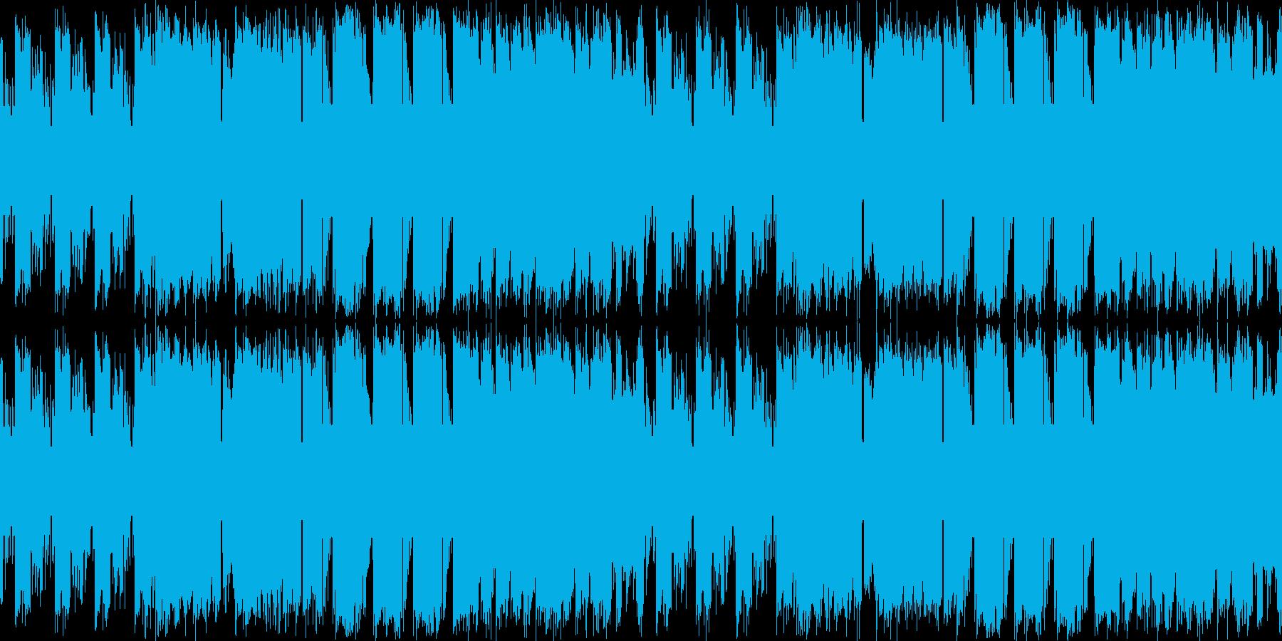 8bitチップチューン:アクション#02の再生済みの波形