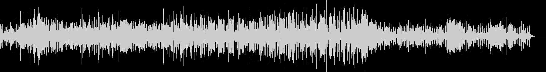 電子音を使った疾走感のあるテクノの未再生の波形