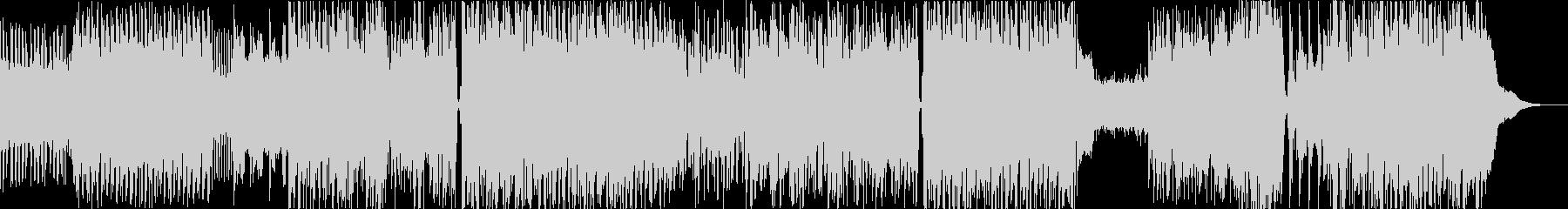 ノリのいいアニメオープニング的曲の未再生の波形