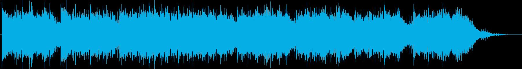 少し切ないピアノソングの再生済みの波形