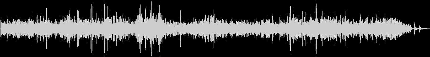 ベートーベン・ピアノソナタ第14番/月光の未再生の波形