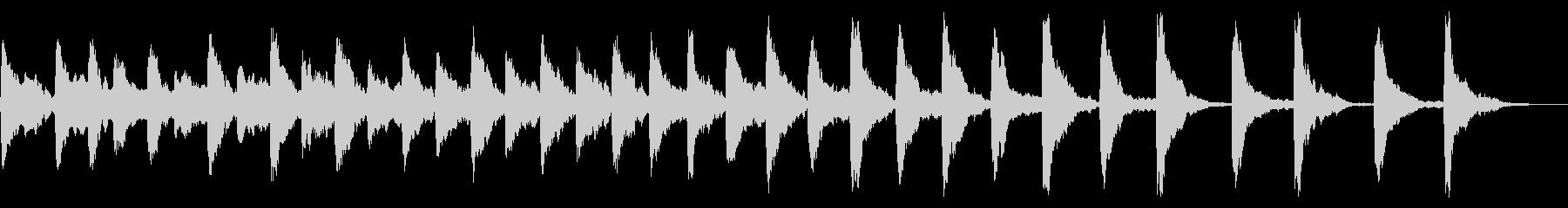 レプトン教会G#ベル:リンギングの未再生の波形