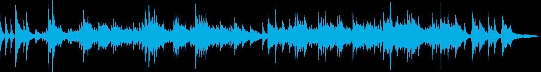 澄みきった青空(ピアノ、爽やか)の再生済みの波形