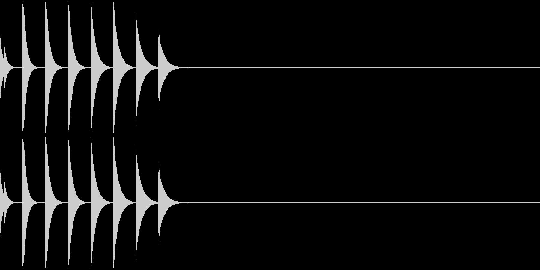 アイキャッチ/場面転換/ジングル/4-Bの未再生の波形