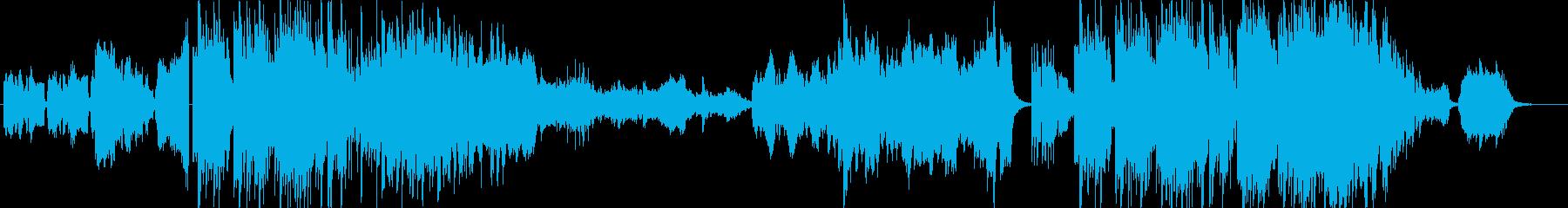 CM】穏やかな和風情緒を感じる尺八曲の再生済みの波形