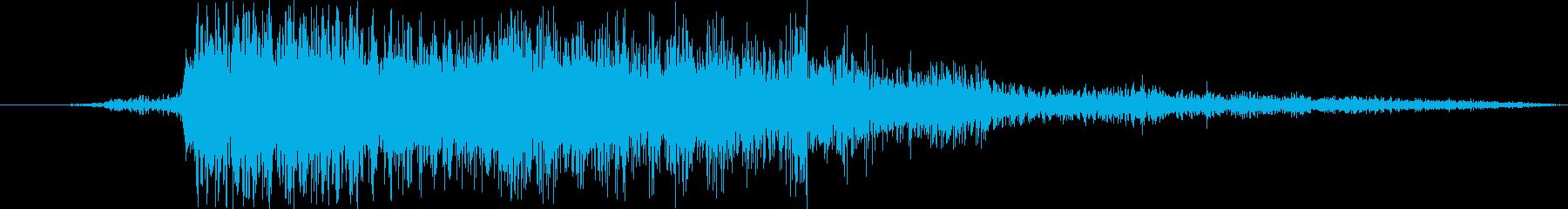 ミリタリーF-16:Ext:Rip...の再生済みの波形
