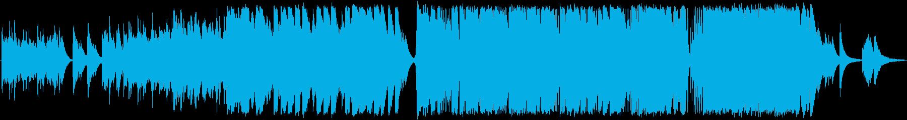ラブソング。ソフトピアノイントロ、...の再生済みの波形