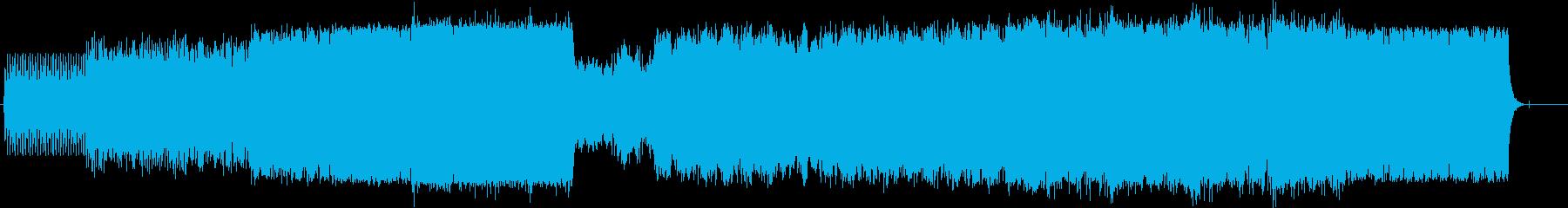 壮大 感動 ドキュメント 報道 紀行の再生済みの波形