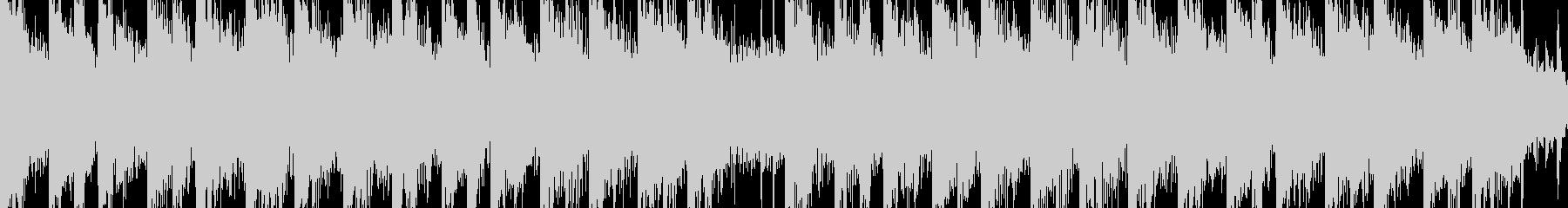ループ加工したディスコ・ミュージックですの未再生の波形