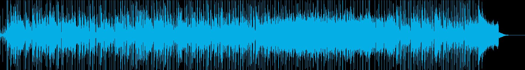 ラジオで流れそうなカリフォルニアポップスの再生済みの波形