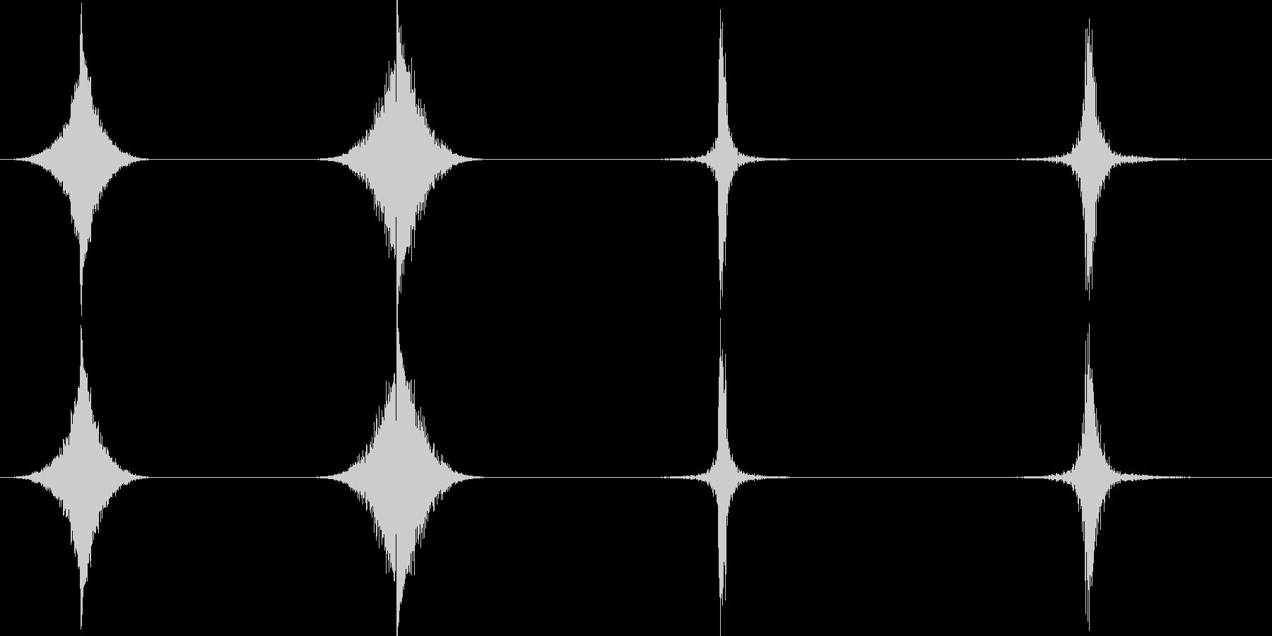 ホイップ、ヒット、インパクト、4バ...の未再生の波形