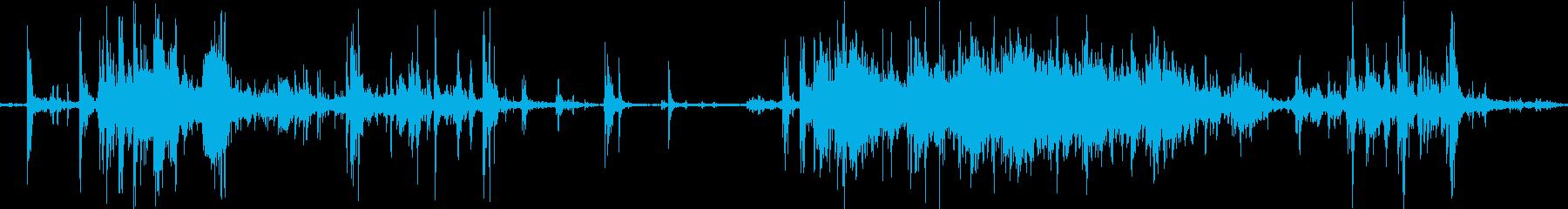 〜癒し音〜製氷機の氷をすくう音♪の再生済みの波形