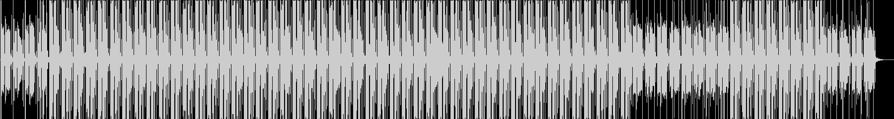 秋を感じるメロウなギターのヒップホップの未再生の波形