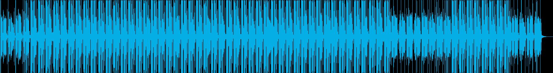 秋を感じるメロウなギターのヒップホップの再生済みの波形