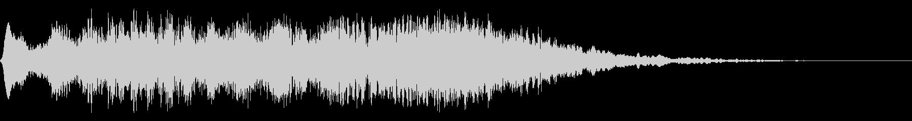 電波、ホラー、サスペンスの未再生の波形