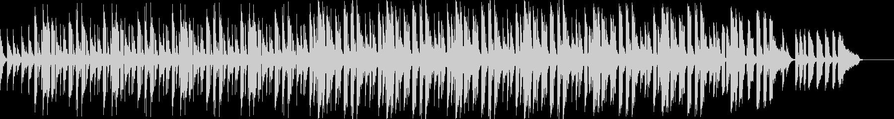 スローテンポスウィングverの未再生の波形
