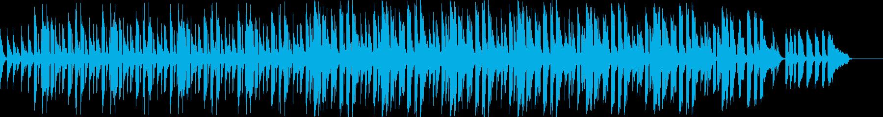 スローテンポスウィングverの再生済みの波形
