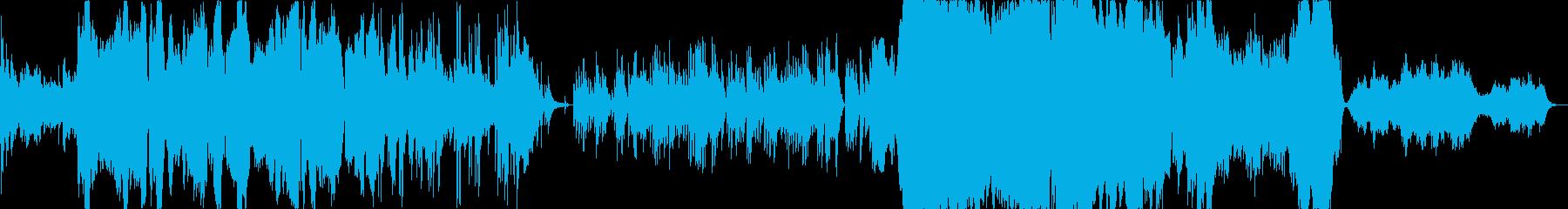 温かく、優しい落ち着いた雰囲気の曲ですの再生済みの波形