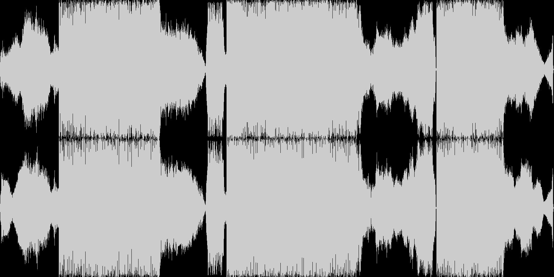 ノイズトランスです。バーチャルアナログ…の未再生の波形