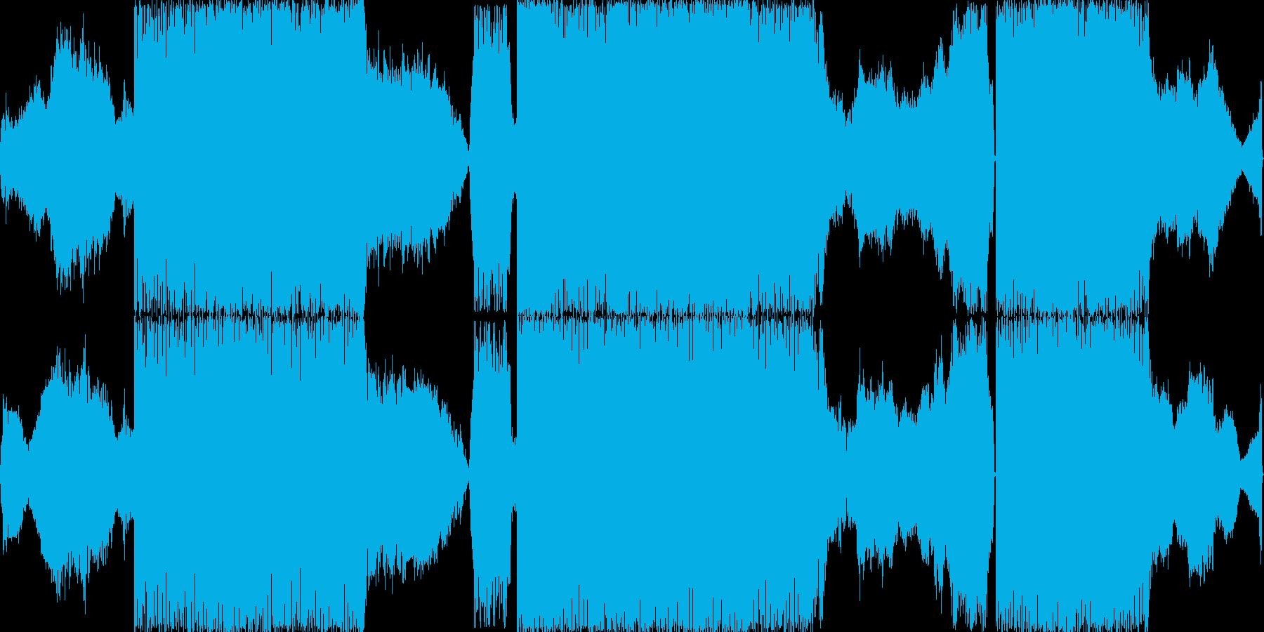 ノイズトランスです。バーチャルアナログ…の再生済みの波形