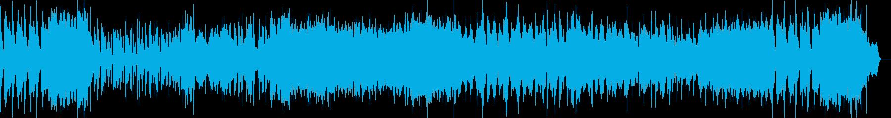 タンゴ調のバンドネオン、ピアノ協奏曲の再生済みの波形