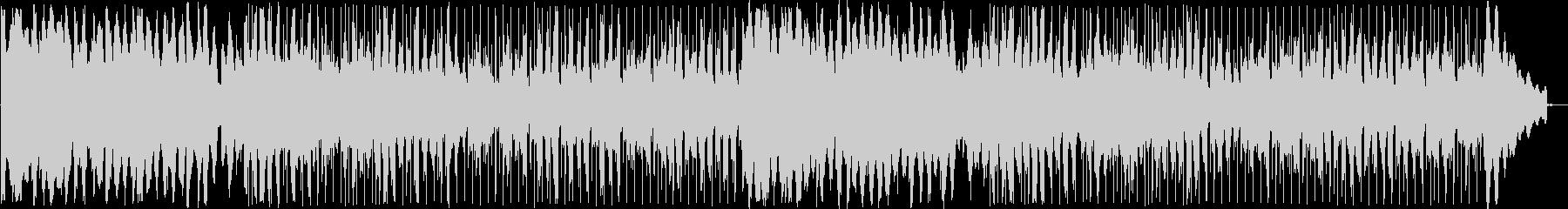 キレイな音色のボサノヴァミュージックの未再生の波形