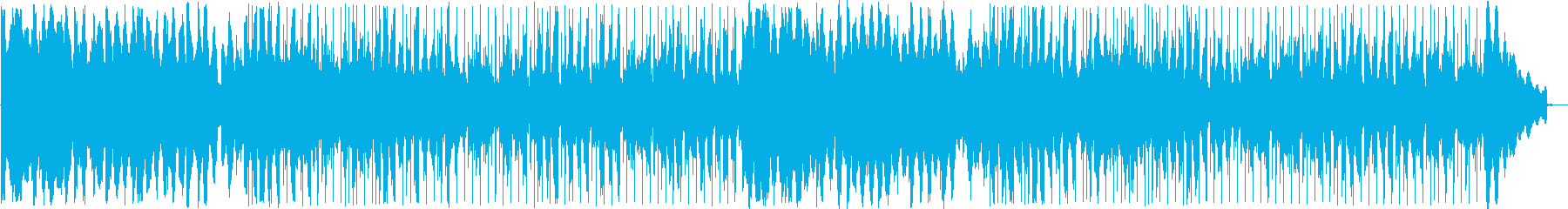 Bossa nova music with beautiful tones's reproduced waveform