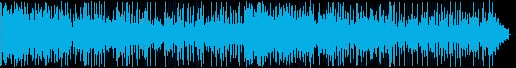 キレイな音色のボサノヴァミュージックの再生済みの波形