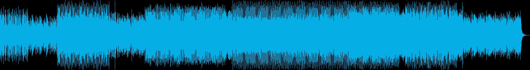 ドキドキ感のシンセポップハウス系の再生済みの波形