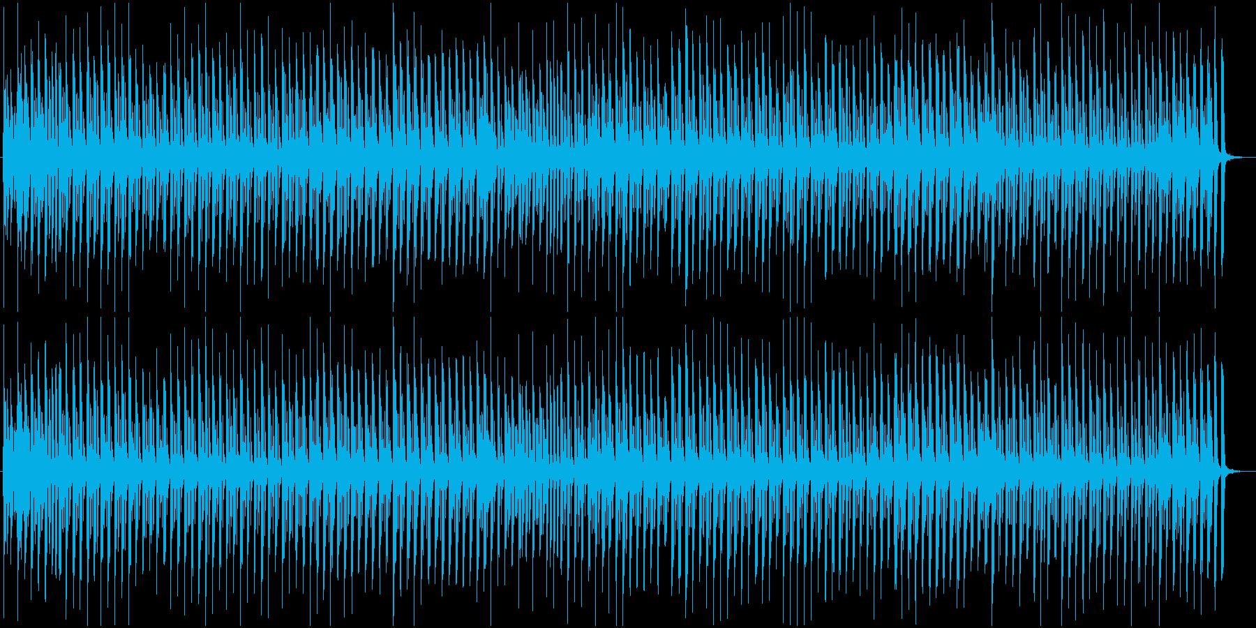 わんぱく探検・かわいい・ほのぼの・キッズの再生済みの波形