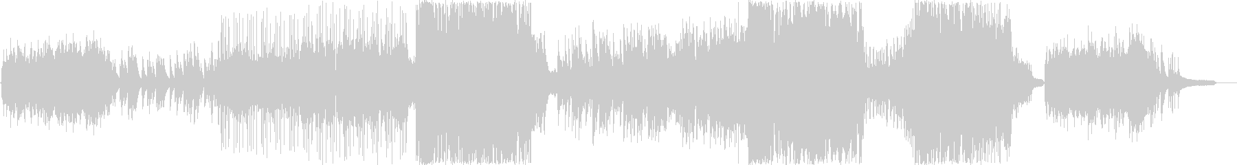 ピアノとストリングスが美しいポップスの未再生の波形