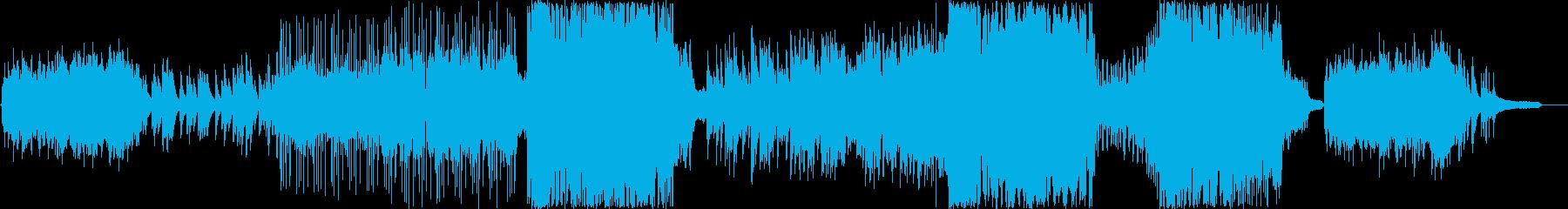 ピアノとストリングスが美しいポップスの再生済みの波形