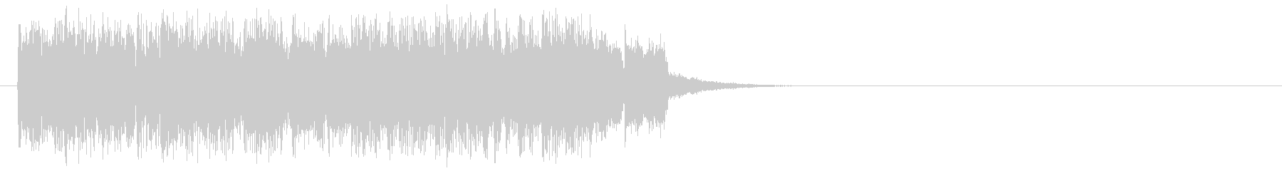 ジングル(どきどきの場面転換)の未再生の波形