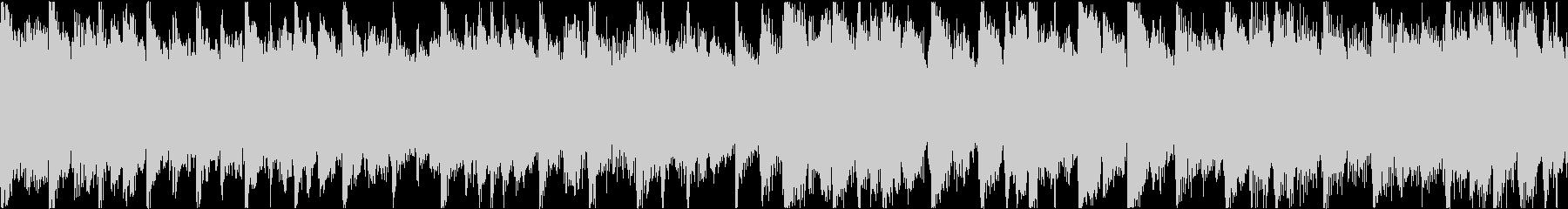 特徴的なピアノパターンを特徴とする...の未再生の波形
