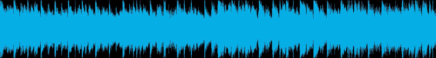 特徴的なピアノパターンを特徴とする...の再生済みの波形