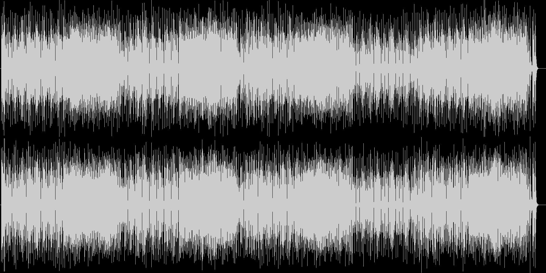 ポップで軽快なシンセポップスの未再生の波形