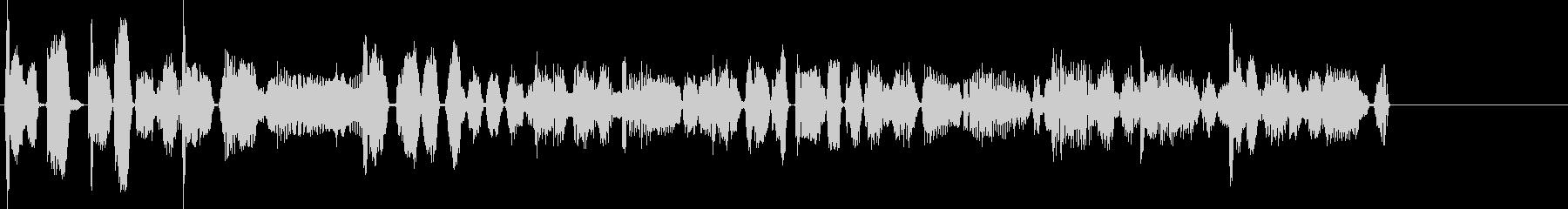 ファンクなジングル向けBGMの未再生の波形